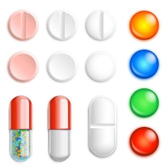 Conjunto de pílulas