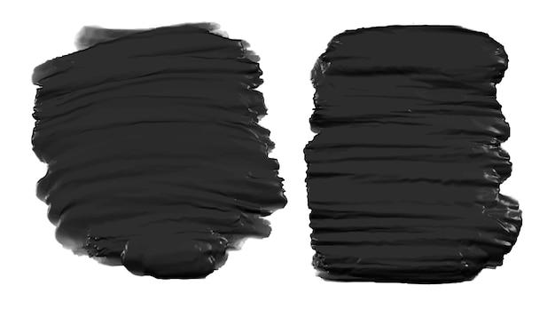 Conjunto de pintura abstrata