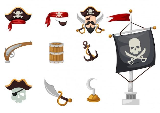 Conjunto de piratas