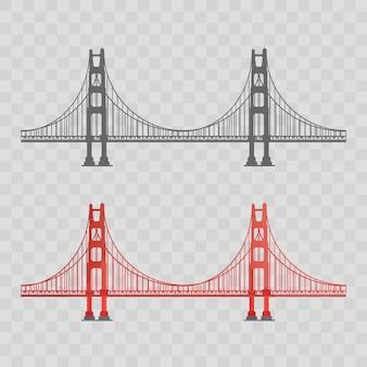 Conjunto de ponte golden gate