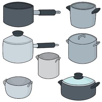 Conjunto de potes