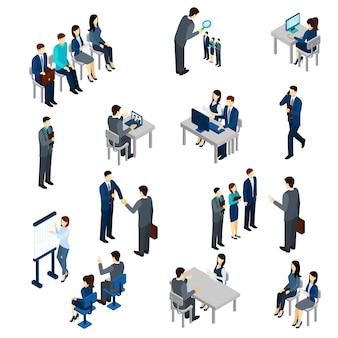 Conjunto de processos de recrutamento