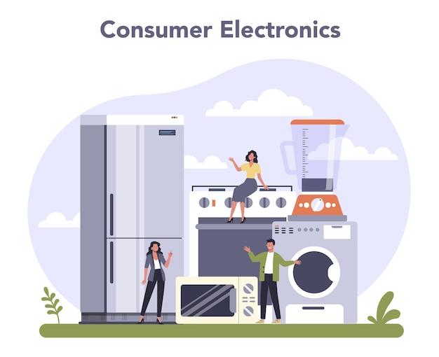 Conjunto de produção de bens de consumo duráveis