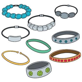 Conjunto de pulseira