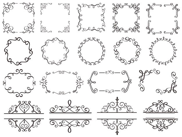 Conjunto de quadros de decoração retrô