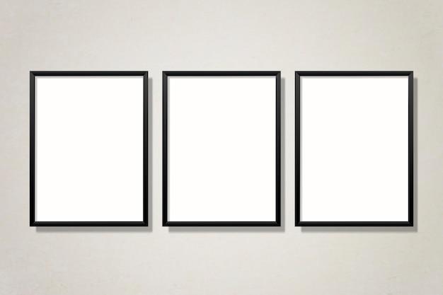 Conjunto de quadros de galeria