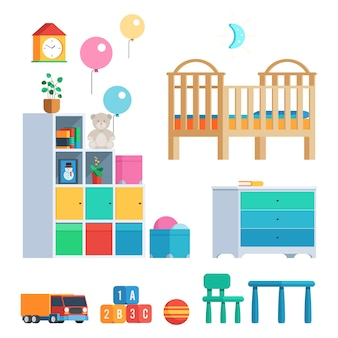 Conjunto de quarto de bebê