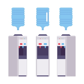 Conjunto de refrigerador de água