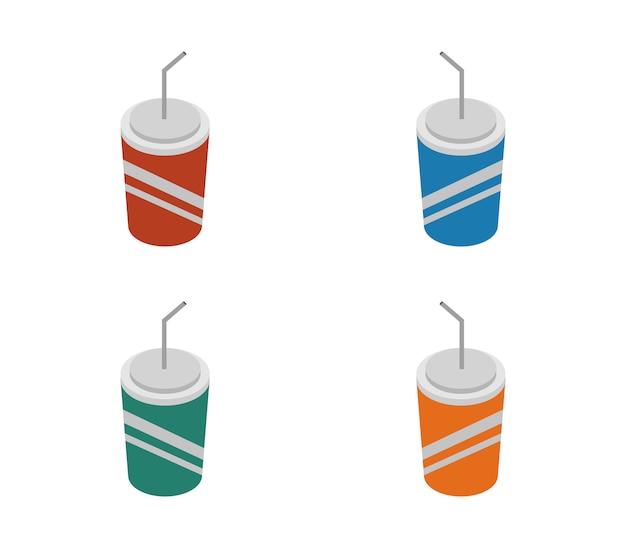 Conjunto de refrigerante isométrico