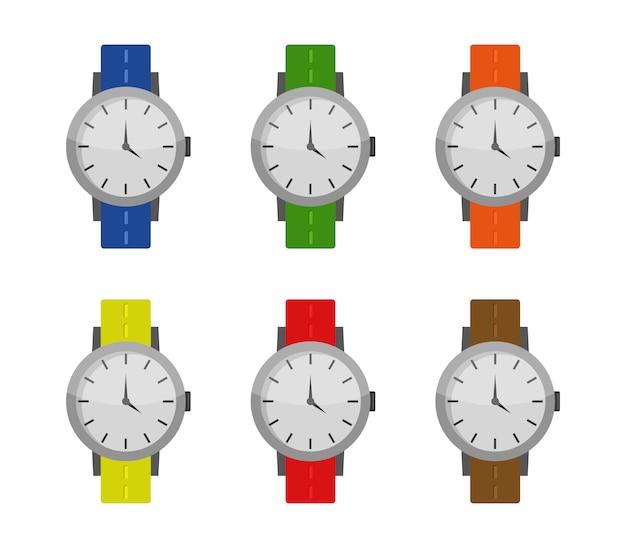 Conjunto de relógio de pulso