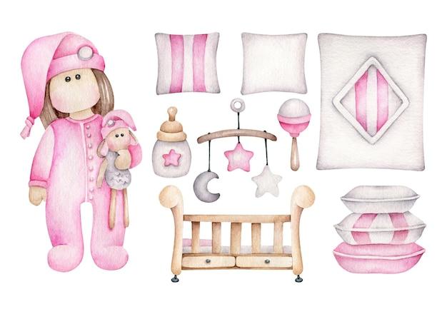 Conjunto de roupa de cama infantil