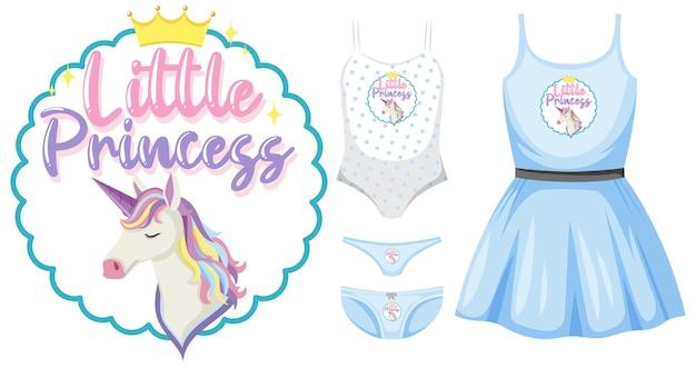 Conjunto de roupas femininas