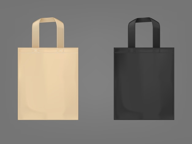 Conjunto de sacolas ecológicas