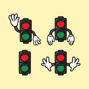 Conjunto de semáforos
