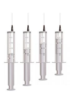 Conjunto de seringas