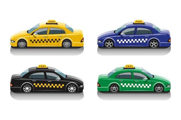 Conjunto de serviço de táxi