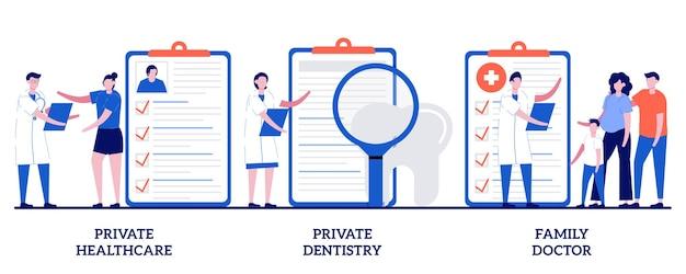 Conjunto de serviços médicos privados de saúde privada