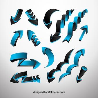 Conjunto de setas abstratas