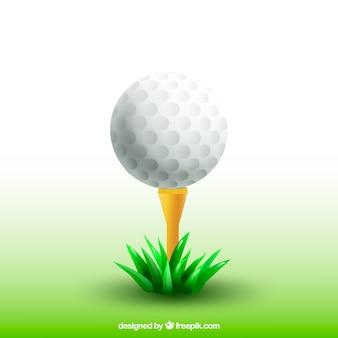 Conjunto de silhuetas de homens de golfe