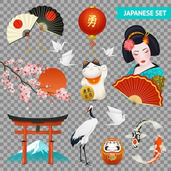 Conjunto de símbolos nacionais japoneses