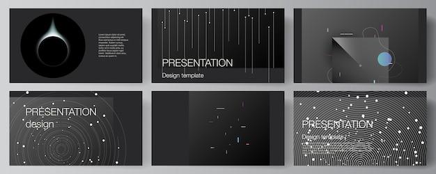 Conjunto de slides de apresentação