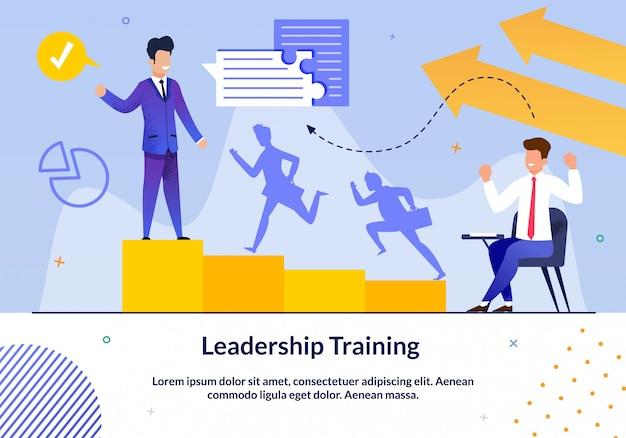 Conjunto de slides de treinamento de liderança