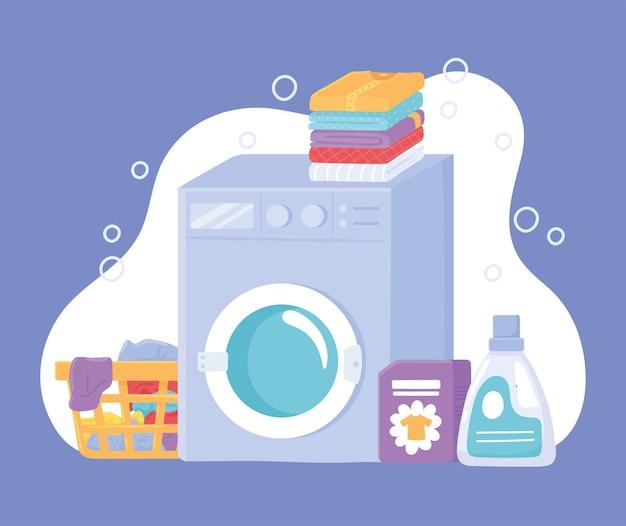 Conjunto de tarefas de lavanderia