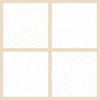 Conjunto de texturas vetoriais de papel natural feito à mão