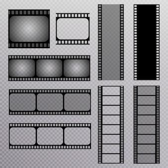 Conjunto de tira de filme