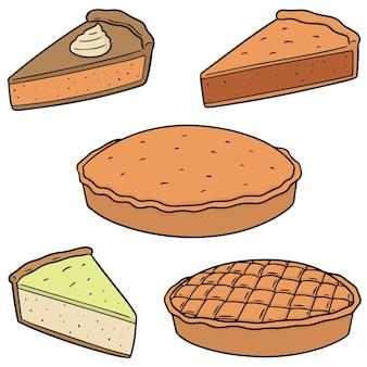 Conjunto de torta