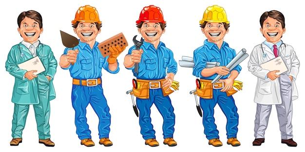 Conjunto de trabalhadores