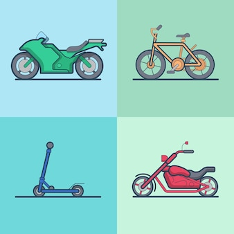 Conjunto de transporte de helicóptero para moto bicicleta bicicleta