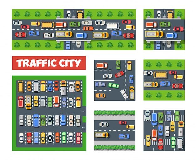 Conjunto de transporte de tráfego