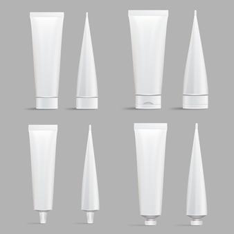 Conjunto de tubo cosmético