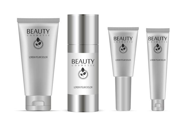 Conjunto de tubos cosméticos