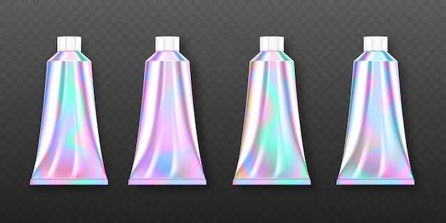 Conjunto de tubos holográficos