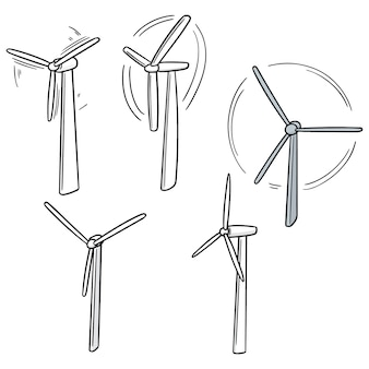 Conjunto de turbina eólica