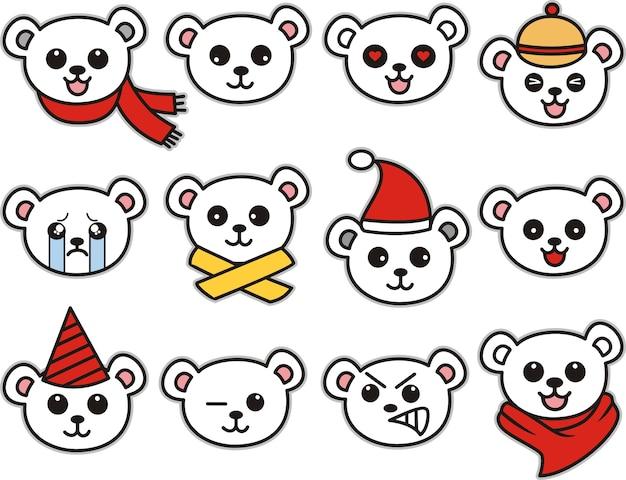 Conjunto de ursinho fofo