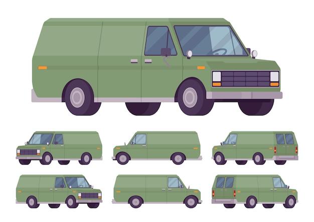 Conjunto de van verde
