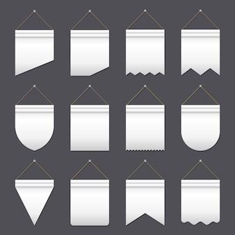 Conjunto de várias bandeiras
