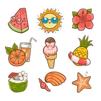Conjunto de verão