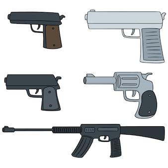Conjunto de vetores de arma