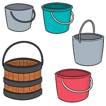 Conjunto de vetores de balde
