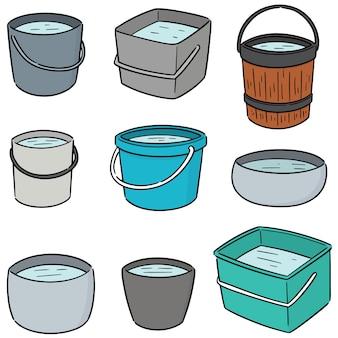Conjunto de vetores de baldes