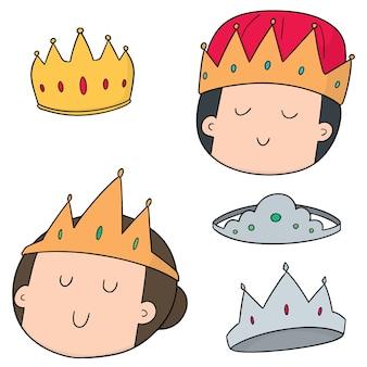 Conjunto de vetores de coroas
