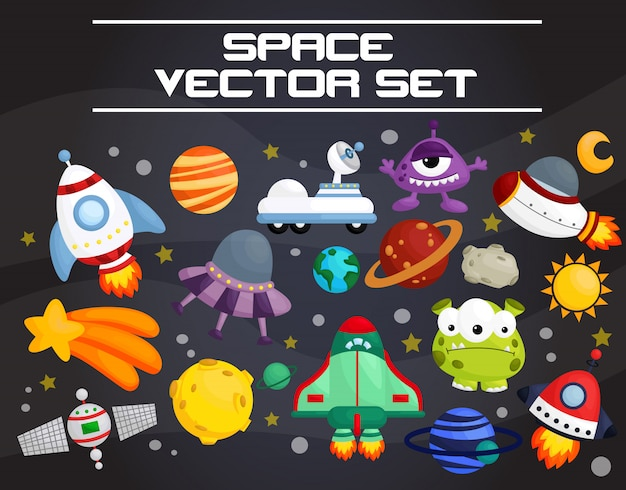 Conjunto de vetores de espaço