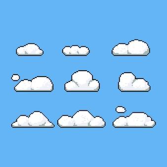 Conjunto de vetores de nuvem