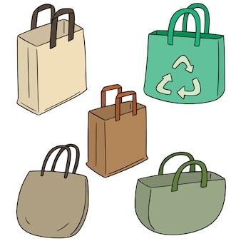 Conjunto de vetores de saco