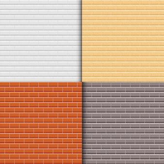 Conjunto de vetores de tijolos
