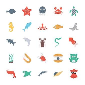 Conjunto de vida subaquática